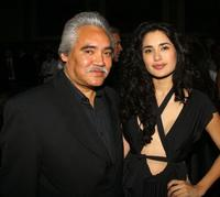 Pedro Castaneda and Veronica Loren at the 18th Annual Gotham Independent Film Awards.