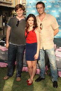 Lucas Neff, Shannon Woodward and Garret Dillahunt at the Fox's