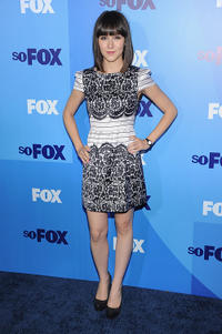 Shannon Woodward at the 2011 Fox Upfront in New York.