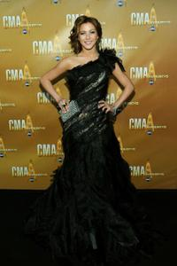Julianne Hough at the 44th Annual CMA Awards.