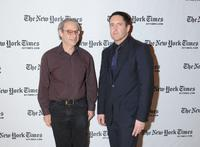 Jon Pareles and Trent Reznor at the 10th Annual New York Times Arts & Leisure Weekend.