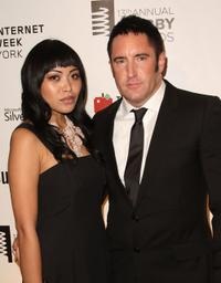Mari Queen and Trent Reznor at the 13th Annual Webby Awards.