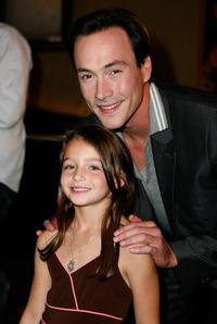 Sophie Nyweide and Chris Klein at the world premiere of