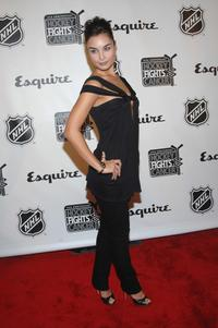 Ewa Da Cruz at the NHL and Esquire season launch party.