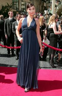 Ewa Da Cruz at the 34th Annual Daytime Emmy Awards.
