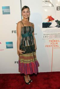 Ewa Da Cruz at the premiere of