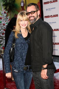 Kathryn Morris and David Barrett at the premiere of