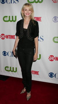 Kathryn Morris at the CW/CBS/Showtime/CBS Television TCA party.