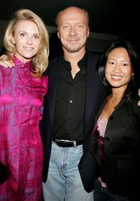 Jennifer Siebel, Producer Paul Haggis and Emily Liu at the Crown Royal and Tab Energy Drink's Cool Down Post Award Season Party.