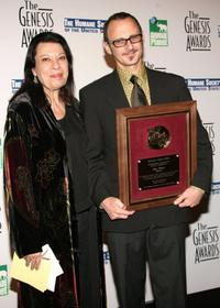 Shelley Morrison and Dan Piraro at the 20th Anniversary Genesis Awards.