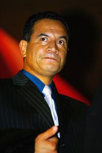 Temuera Morrison at the Air New Zealand Screen Awards.