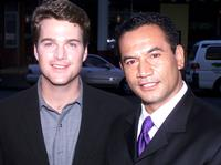 Temuera Morrison and Chris O'Donnell at the New Zealand premiere of