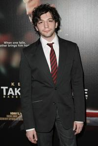John Magaro at the premiere of