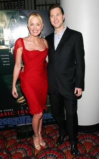 Sharon Stone and David Morrissey at the premiere of