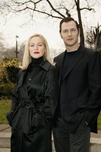 Sharon Stone and David Morrissey at the photocall of
