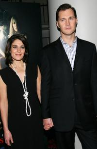 David Morrissey and Esther Freud at the premiere of