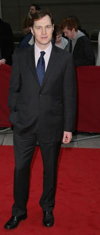 David Morrissey at the Galaxy British Book Awards.