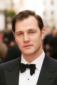 David Morrissey at the Pioneer British Academy Television Awards.
