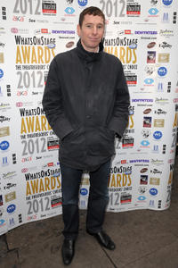 Gerard Kearns at the Whatsonstage.com Theatregoers' Choice Awards Press Launch and Nominations Announcement in England.