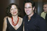 Rob Morrow and Victoria Foyt at the after party for premiere of