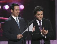 Rob Morrow and David Krumholtz at the 33rd Annual People's Choice Awards.