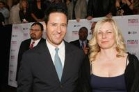 Rob Morrow and Debbon Ayer at the 33rd Annual People's Choice Awards.