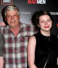 Robert Morse and Allyn Morse at the season 4 premiere of
