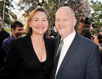 Cherry Jones and Glenn Morshower at the screening of the season finale for Fox's