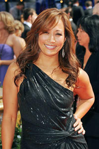Carrie Ann Inaba arrives at the 62nd Annual Primetime Emmy Awards held at the Nokia Theatre L.A. Live on August 29, 2010 in Los Angeles, California.