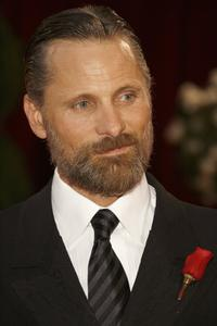 Viggo Mortensen at the 80th Annual Academy Awards.