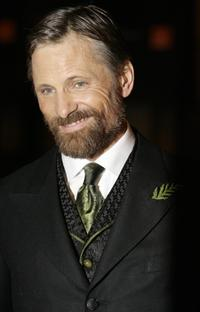 Viggo Mortensen at the British Academy of Film and Television Awards.