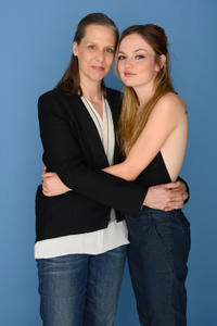 Amy Morton and Emily Meade at the Portrait session of