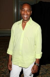 Joe Morton at the NBC Universal's all-star press tour party.