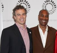 Mark Stern and Joe Morton at the screening of