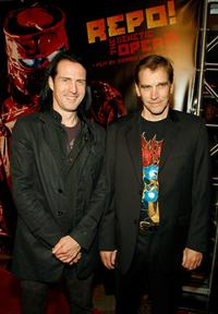 Nivek Ogre and Bill Moseley at the special screening of
