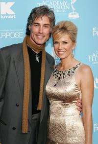 Ronn Moss and Katherine Kelly Lang at the 34th Annual Daytime Creative Arts & Entertainment Emmy Awards.