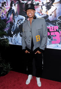 Jamal Sims at the world premiere of