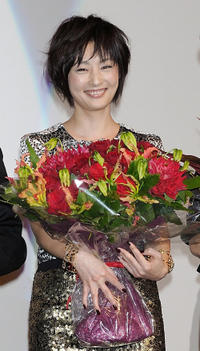 Takako Tokiwa at the Japan-China Film Festival Week Opening Ceremony in Japan.