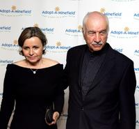 Armin Mueller-Stahl and his wife Gabriela at the