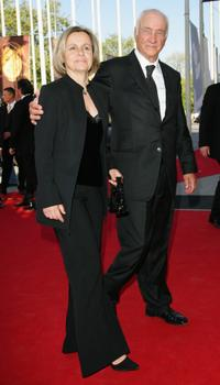 Armin Mueller-Stahl and Gabriela Mueller-Stahl at the German Film Awards.