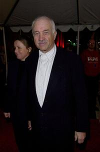 Armin Mueller-Stahl at the premiere of