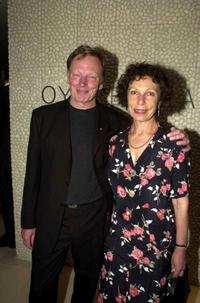 John Bell and Anna Volska at the opening of the Oyster Bar.