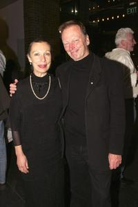 Anna Volska and John Bell at the opening night of