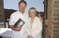 John Bell and Jackie Weaver at the launch of John Bell's book