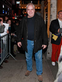Michael Mulheren at the Broadway Preview opening night of
