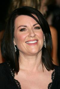Megan Mullally at the Vanity Fair Oscar Party.
