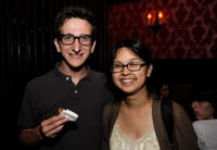 Paul Rust and Charlyne Yi at the screening of