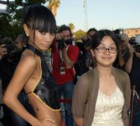 Bai Ling and Charlyne Yi at the Los Angeles screening of