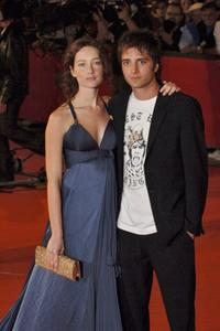 Cristiana Capotondi and Nicolas Vaporidis at the premiere of