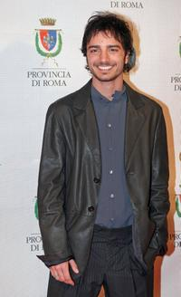 Nicolas Vaporidis at the Italian TV Awards